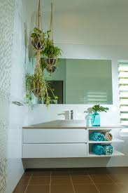 tropical bathroom ideas create a fresh atmosphere in the bathroom with the tropical style