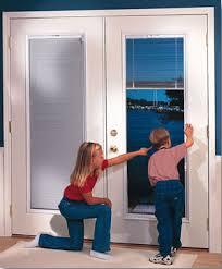 Doors With Internal Blinds Brennan Exteriors Steel U0026 Fiberglass Replacement Entry Doors