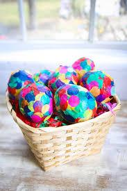 paper mache easter baskets diy paper mache confetti eggs hello glow