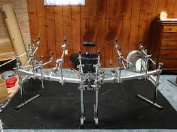 what mat carpet rug etc do you use to keep your drums from