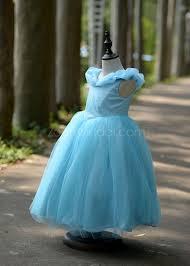 cinderella disney princess dress blue birthday party dress toddler