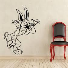 bugs bunny wall decal looney tunes cartoon vinyl sticker nursery