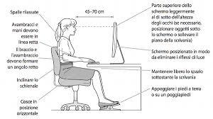 postura corretta scrivania sedie per ufficio consigli per una postura corretta