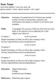 fashionable ideas resume format 5 resume templates resume example