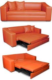 canapé convertible orange canape lit canape convertible lit magasin pas cher