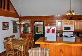 kitchen and dining room cabin 3deer country cabins in maggie valley nc
