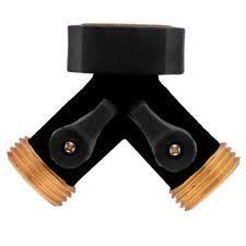 Faucet Splitter Orbit Brass Faucet Spigot Adapter Garden Hose Y Splitter Divider