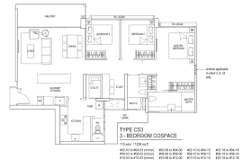 Ecopolitan Ec Floor Plan by Bellewaters Ec Anchorvale Crescent Mysg Property Com