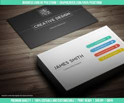 Best Business Card Designs Psd Creative And Minimal Business Card Template Vol 2 By Psdstorm On