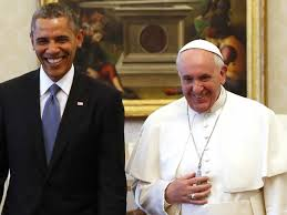 trump pope francis ben hur plug up pope francis smiled with president obama frowned