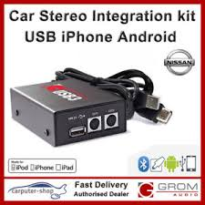 pathfinder android grom usb3 mp3 iphone android integration kit for nissan 350z