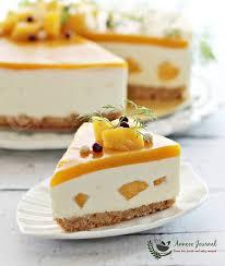 Kek Mango no bake mango yogurt cheesecake 免烤芒果优格芝士蛋糕 anncoo journal