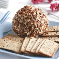 thanksgiving cheese ball recipe gorgonzola u0026 cranberry cheese ball recipe taste of home