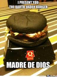 Burger Memes - ladies and gents the darth vader burger by si2000 meme center