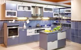 Soft White Kitchen Cabinets Kitchen Mesmerizing Soft Blue Kitchen Cabinet Design With Soft