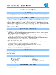 Job Description Of Cashier For Resume by 83 Cashier Duties Resume Sample Bank Teller