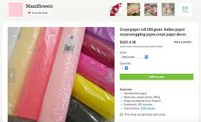 where to buy crepe paper sheets where i buy my crepe paper rolls miss petal bloom crepe
