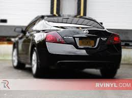 nissan altima custom parts rtint nissan altima coupe 2008 2016 tail light tint film