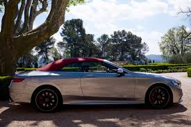 Test Drive 2017 Mercedes Amg S Class Cabriolet S63 Cool Hunting