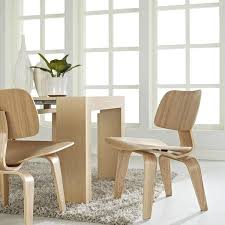 Molded Dining Chairs Eames Molded Plywood Dining Chair Wood Base By Herman Miller