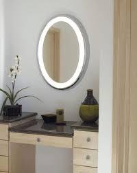 oval bathroom mirrors decor references