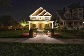 Outdoor Lighting House by Landscape Lighting Design U0026 Installation Sponzilli Landscape Group