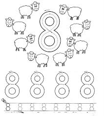number 7 seven tracing and coloring worksheets crafts and