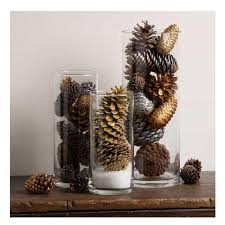 pine cone table decorations pine cone easy table decoration diyideacenter