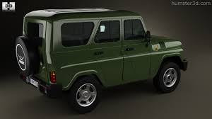 uaz jeep 360 view of uaz hunter 315195 2012 3d model hum3d store