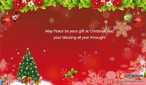 peaceful wishes and greetings merry and happy