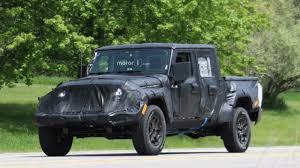 2018 jeep wrangler spy shots 2018 jeep wrangler pickup spy shots youtube
