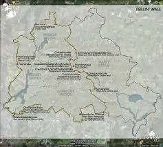 Map Of Berlin Germany by The Berlin Wall The Greatest Symbol Of Division Among People