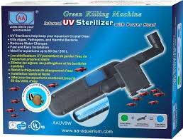 Uv L Aquarium Amazon Com Aa Aquarium Green Killing Machine 9w Uv Sterilizer