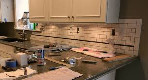 Kitchen Backsplash Gallery 100 Subway Tile For Kitchen Backsplash How To Install Bevel