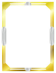 printable art deco borders art deco clipart