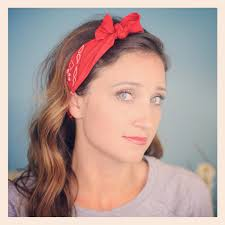 headband with bow six diy 1 minute bandana hairstyles hairstyles