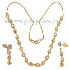 gold sets images gold sets necklace and earrings 22 k goldpalace