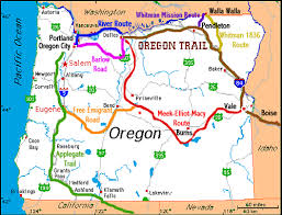 map of oregon mo records from the oregon trail system 1852