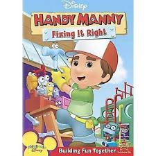 handy manny fixing dvd 2008 ebay