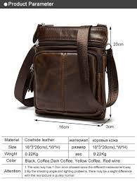 Cowhide Rs Westal Genuine Leather Men Bags Male Cowhide Flap Bag Shoulder
