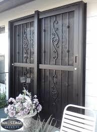 Security Patio Door Security Gates For Sliding Patio Doors Doors Ideas
