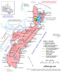 Map Of Canada And United States by Canadian Land For Sale In Ontario Nova Scotia And New Brunswick