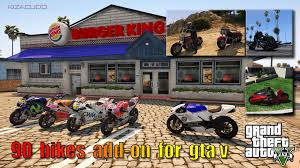 100 bikes add on compilation pack gta5 mods com