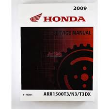 honda aquatrax f15 f15x service and shop manual 61hw501 jet