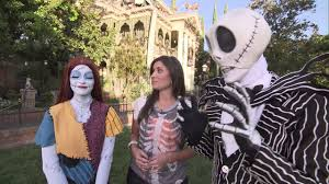 disneyland halloween time 2014 overview with jack and sally at