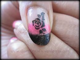 rose nails got a style