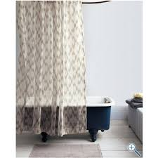Sheer Shower Curtains Sheer Fabric Shower Curtain Curtains Ideas