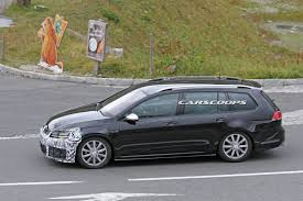 volkswagen wagon 2017 restyled 2017 vw golf r wagon taking its talents to the austrian alps