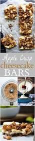 apple crisp cheesecake bars easy healthy recipes using real