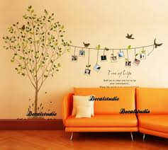 beautiful picture frames on the tree wall decals sticker